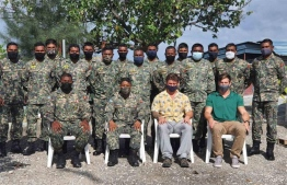 Participants of the paramedic training held by the US and Japanese Embassy, PHOTO: MNDF