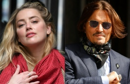 (FILES) (COMBO) This combination of file pictures shows US actress Amber Heard arriving on July 23, 2020, and US actor Johnny Depp arriving on July 24, 2020, at the High Court in London. - A British court is to rule on March 25, 2021, whether Johnny Depp's lawyers can appeal against a high-profile libel ruling that upheld claims the Hollywood star beat his ex-wife Amber Heard. (Photos by DANIEL LEAL-OLIVAS and Tolga Akmen / AFP)