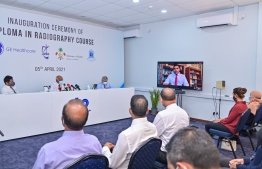 Ceremony held to inaugurate the Diploma in Radiology Programme. PHOTO: AHMED ASHWAN ILYAS