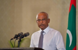President Ibrahim Mohamed Solih: the ratified amendment to the Maldives  Anti-Human Trafficking Act was published on the Government Gazette today -- Photo: President's Office