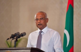 President Ibrahim Mohamed SolihL he has said the attack on Nasheed is being investigated by the Police -- Photo: President's Office