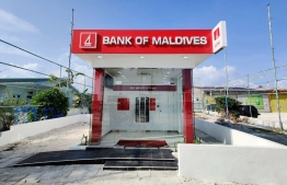The new Self-Serice ATM in Komandoo. PHOTO: BML