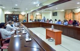 People's majlis committee on MMPRC corruption list -- Photo: Majilis