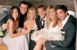 Cast of FRIENDS show. PHOTO: GOOGLE