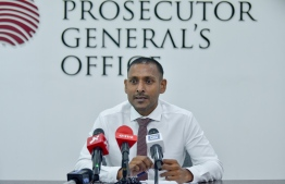 PG Shameem addressing  the media in a press conference -- Photo: Ahmed Awshan Ilyas/ Mihaaru