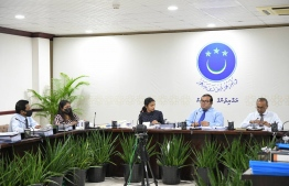 241 Committee finalises report breach into Nasheed's security -- Photo: Parliament