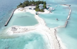 Velifinolhu Island: the land reclamation for this project was done with EPA's permission --