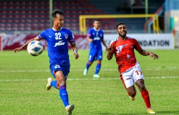 Male' - August 21, 2021: Photos from India's Bengaluru and Bangladesh's Bashundhara Kings in Group D of AFC Cup. This match ended in a draw. -- Photo: Nishan Ali/ Mihaaru