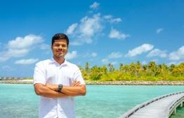 Assistant Front Office Manager, Maain Shahid at Patina Maldives Fari Islands
